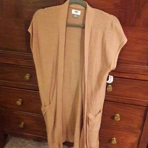 NWT Short sleeve open front cardigan
